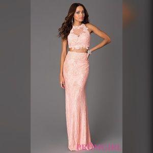 Two piece Jovani prom dress